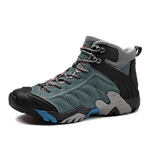 LMZX Herfst En Winter Heren Outdoor Wandelschoenen Waterdicht Niet Slip Wandelschoenen Sneakers Hoge Top Cross Country Schoenen Draag Resistant