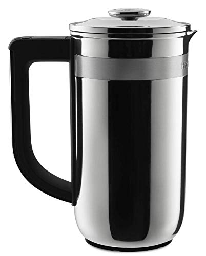 KitchenAid KCM0512SS Precision Press Coffee Maker,...