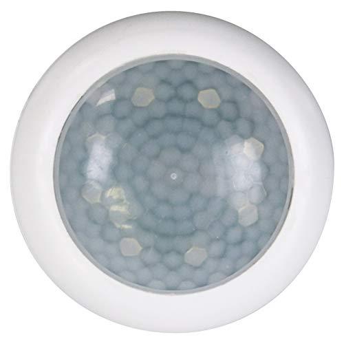 EMOS P3304 Nachtlicht Steckdose mit Bewegungsmelder und Dämmerungssensor, Warmweiß, Orientierungslicht für Kinderzimmer, Treppe, Schlafzimmer, Küche, Flur, Reichweite 5m