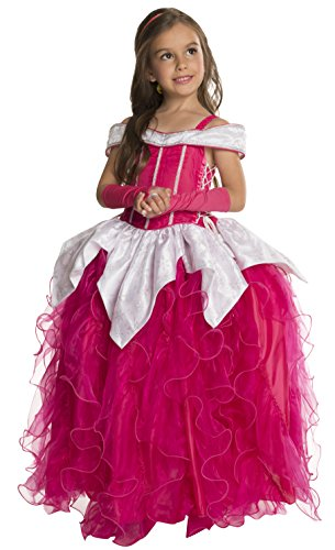 Rubie's Deluxe Princess Michelle Costume, Pink, Toddler