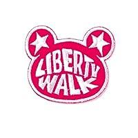 LBWK LB KUMA ワッペン Pink #WP7-PK