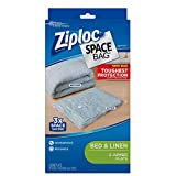 4. Ziploc Reusable Clothes Storage Bags, 2 Jumbo Vacuum Seal Storage Bags, Space Bags