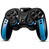 LUXMO PREMIUM Mobile Game Controller,Wireless Bluetooth Gaming Controller PC Gamepads Joystick for iOS/Android Phone,Tablet,Win 7/8/10 Systems,Smart TV/TV Box Black