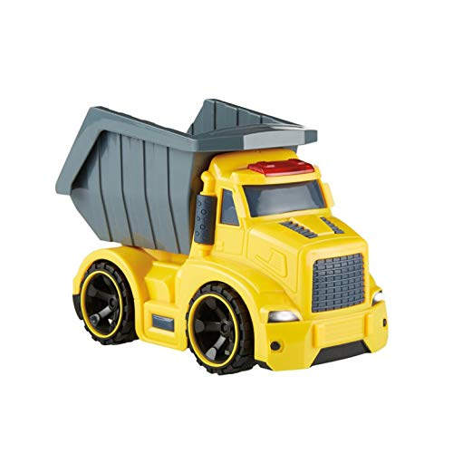 Kidoozie Lights 'n Sounds Dump Truck, Indoor or Outdoor Toy, for Children 3 Years and up