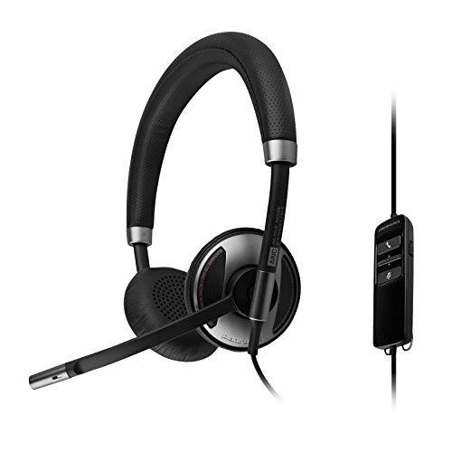 Plantronics 202580-01 Wired Headset, Silver/Black (Renewed)