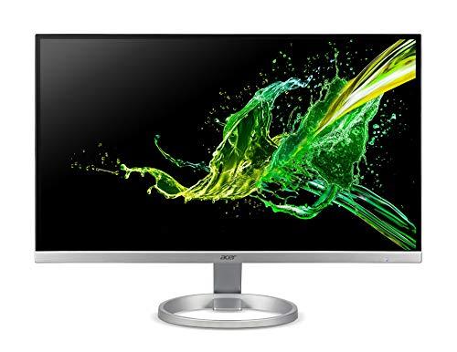 Acer R240Ysmipx Monitor FreeSync da 23,8 , Display IPS Full HD (1920x1080), 75 Hz, Formato 16:9, Luminosità 250 cd m2, Tempo di Risposta 1ms (VRB), VGA, HDMI, DP, Audio In Out, Speaker Integrati