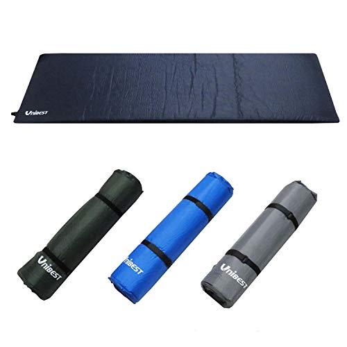 Unibest Selbstaufblasende Luftmatratze Isomatte Luftmatte Einzelperson 202x70x8cm - dunkelgrün
