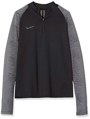 Nike Kid's Dry Strike Drill Top, Black/Black/Wolf Grey/Anthracite, XL