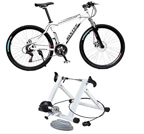WYJW Soporte para Entrenador de Bicicleta con Resistencia magnética Suave Ejercicio de Bicicleta Ciclo de Entrenamiento para Entrenador de Interior