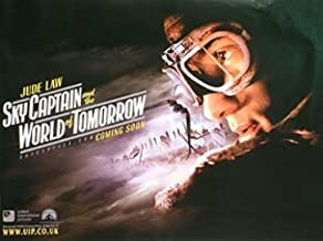 Sky Captain and The World Of Tomorrow Advance Jude Law 30X40 New Angelina Jolie Gwyneth Paltrow Poster