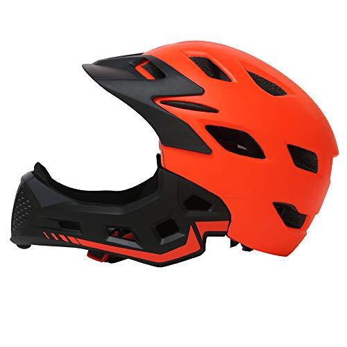 CARACHOME Casco Bebe, Casco Niño Full Face Multi-Sport Adecuado para Motocicleta Bicicleta...