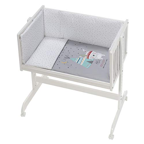 Interbaby CT014-31 - Minicuna Colecho Tipi Oso Gris, unisex