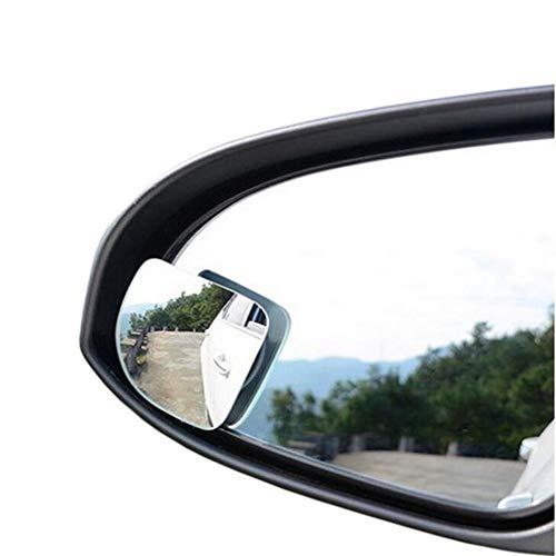 FDSEF HD-randlos Verstellbarer fächerförmiger blinder Winkelspiegel Umlenkspiegel Weitwinkelobjektiv-Rückspiegel-Zusatzspiegel