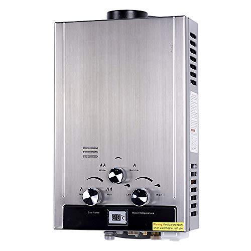 Stoge 12KW LPG Erdgas-Warmwasserbereiter Haushalts-Warmwasserbereiter für schnelles Waschen, Flüssiggas-Warmwasserbereiter, 6L/min