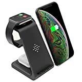 Wireless Charger 3 in 1 Charging Station for Apple Watch Series 5/4/3/2/1