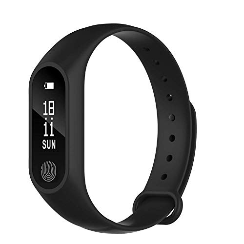 Buddymate ED44 M2 Bluetooth Waterproof Fitness Smart Band with Heart Rate, Alarm, Blood Pressure, Calories Burned & Other ,Compatible with All Devices (Random Color)