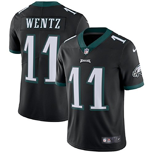 Nike NFL Philadelphia Eagles Carson Wentz Authentic On-Field Black Vapor Untouchable Limited Player Jersey (M)