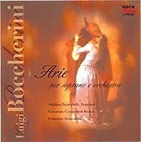 Arias for Soprano & Orchestra by Boccherini