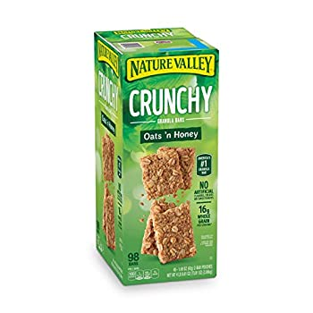 Nature Valley Crunchy Granola Bars Oats  N Honey - 98 Bars Of 2 bar Pouches of 49ct-1.49oz
