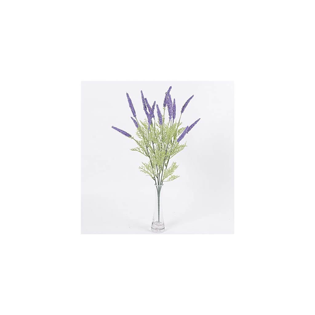 LOadSEcr's Fakeflowers Decor, 1Pc 42cm 5Branches Artificial Lavender Realistic Plant Hanging Flowers, DIY Wedding Bouquets Party Home Decorations