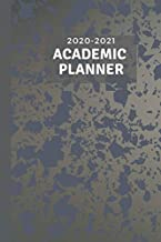 2020-2021 Academic Planner: Get organized easily with this weekly planner and notebook.