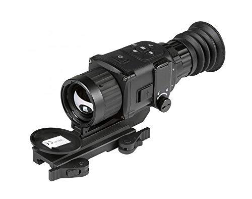 AGM Global Vision Rattler TS35-384 Compact Medium Range Thermal Imaging Rifle Scope 384x288 (50 Hz), 35 mm Lens., White Hot, Black...