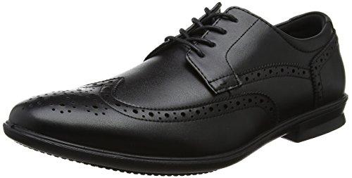 Hush Puppies Cale Wing Tip, Zapatos de Cordones Brogue para Hombre