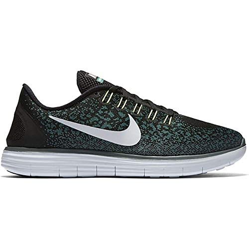 Nike Free RN Distance Mens Running Trainers 827115 Sneakers Shoes (US 7, Black Pure Platinum 004)