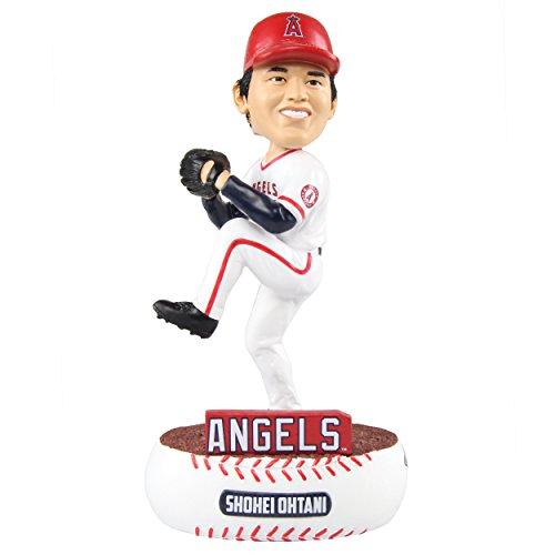 FOCO MLB Los Angeles Angels Unisex Baller BOBBLEBALLER Bobble, Team Color, One Size