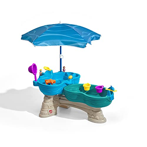 Splash Seaway Water Table for Toddlers in the Backyard
