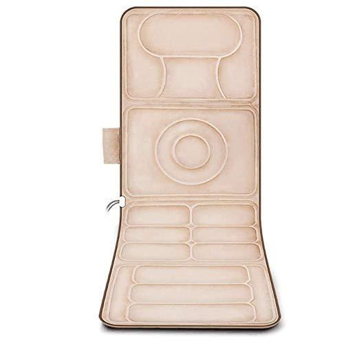 Barir Colchoneta de Masaje de Cuerpo Completo con calefacción, Control Remoto, Almacenamiento fácil y Compacto: un Gran Regalo for Hombres y Mujeres