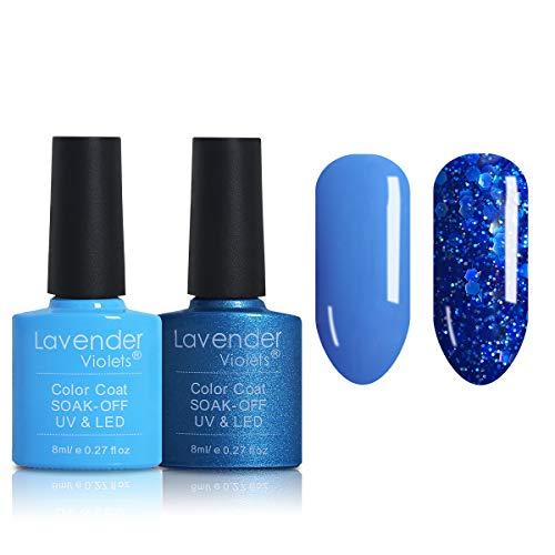Nail Gel Polish Soak Off UV LED Gel Manicure Blue