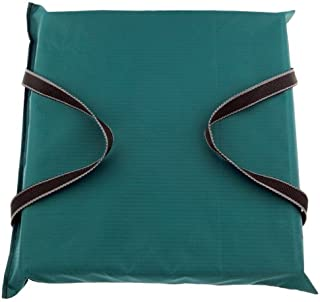 Onyx Boat Cushion Comfort Foam, 15 X 16 X 2 1/2 -Inches, Forest Green