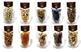Evergreen Farms Healthy Dry Fruits Combo Pack of 10 Almonds,Cashew,Pistachios,Yellow Raisins,Turkish Apricots,Anjeer,Black Raisins,Afghani Apricots,Dry Dates,Walnuts(1 Kg-100g Each)