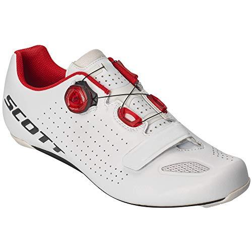 Scott Road Vertec Boa Rennrad Fahrrad Schuhe weiß/rot 2020: Größe: 43