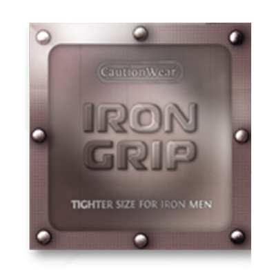 Caution Wear Iron Grip Snugger Fit Small Condoms by Caution Wear