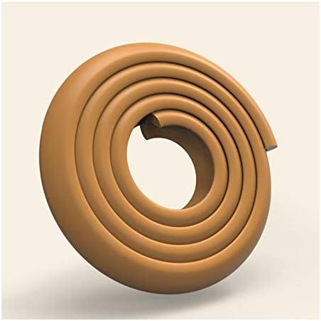 LFJY Edge ProtectorsLvorm hoek muurbeschermerBaby veiligheidsBumpers 2 M schuim veiligheidsstripEdge hoekbeschermers voor babyBeschermers voor meubels houden babyveiligheid bruin