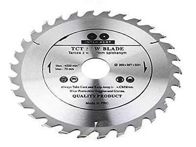 Hoja de sierra circular de 300 x 50 mm (anillo de 32 mm) para madera