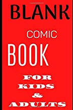 Blank Comic Book For Kids And Adults: Best Blank Comic Book 2020