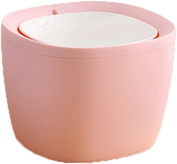 ZLQBHJ Waste Bins Desktop Trash with Can Table Fashion List price Store