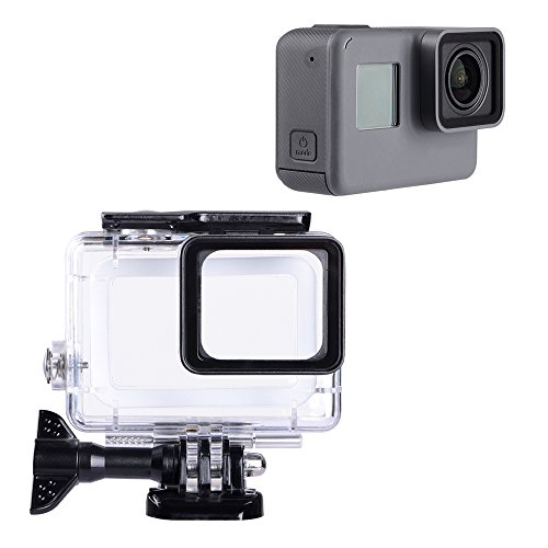 Trehapuva Underwater Housing Case Compatible with GoPro Hero(2018)/GoPro Hero7 Black/6/5 Waterproof Case Diving Protective Housing Shell Replacement Cover with Bracket for Go Pro Camera Accessories