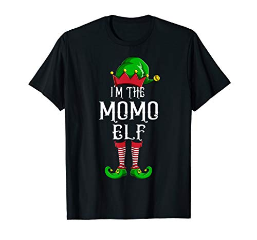I'm The Momo Elf Matching Family Group Christmas T-Shirt