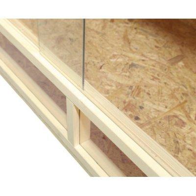 Terrario: madera Terrario para Reptiles página ventilación 100 x ...