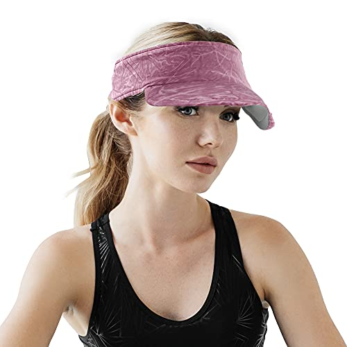 Arcweg Visiera Donna Capello Visiera Estivo Uomo Run cap Ciclismo Traspirante Morbido Elastico Visiera Sport Tennis Golf Marathon Outdoor Protezione UV UPF 50+