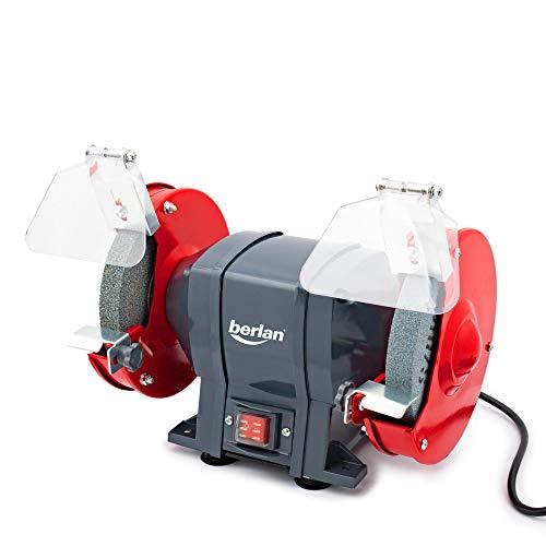 Berlan Doppelschleifer Doppelschleifmaschine Schleifgerät Schleifbock - 250 Watt / 150 x 20 mm