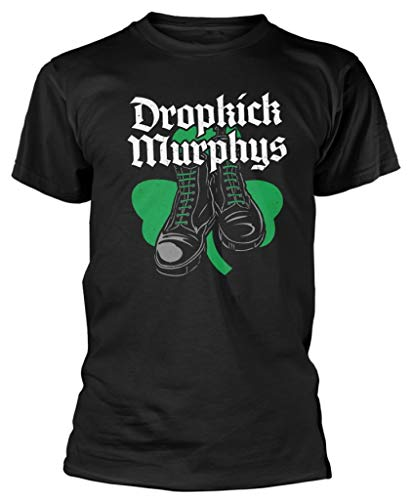 Dropkick Murphys 'Boots' (Black) T-Shirt (Small)