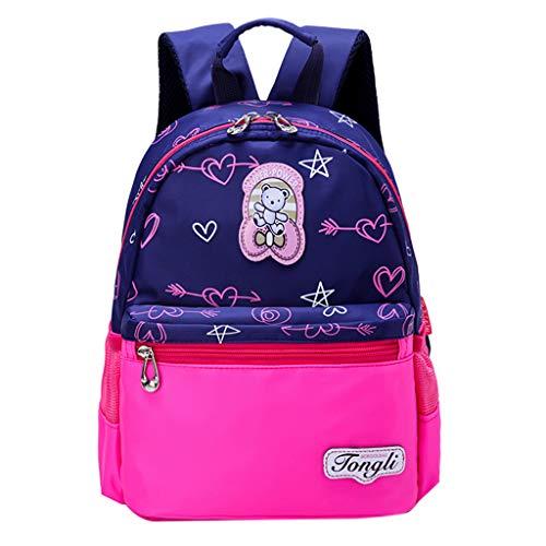 Tigivemen Cartoon Pattern Children's Backpack, Large Capacity S tudent Bag Kids Toddlers/Baby/Children Dinosaur School Package