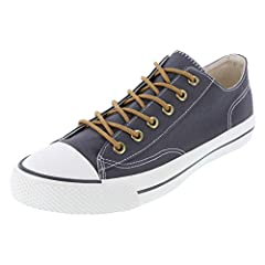 Rubber Cap Toe Canvas Lining Padded Insole Non-Marking Outsole