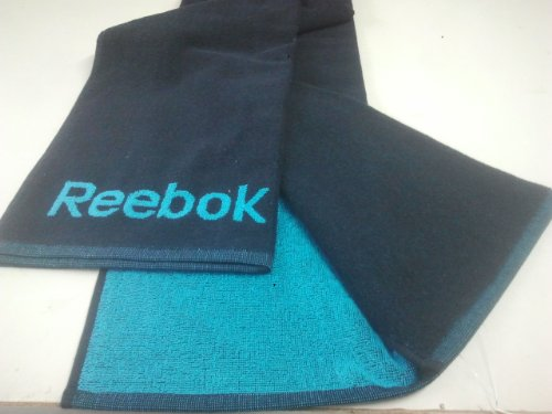 Reebok Unisex Reversible toalla de playa (Z81573) (azul