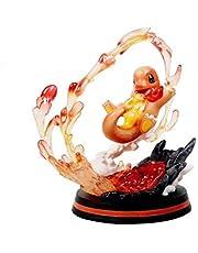 Pokemon Verjaardagscadeau Charmander Battle Desktop Action Figure Animated Character Model Statue, voor geschenken en thuiskantoordecoratie